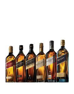 Johnnie Walker® Collection (6 bottles) Whiskey Or Whisky, Whiskey Brands, Scotch Whiskey, Whiskey Bottle, Booze Drink, Alcoholic Drinks, Cocktails, Beverages, Johnnie Walker Whisky