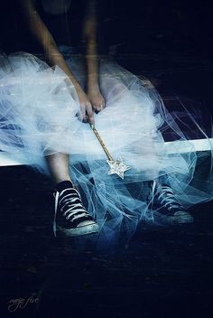 Tulle and converse