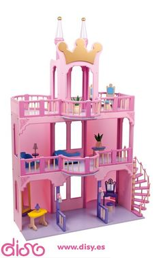 #casasdemuñecasdisy #casasdemuñecas #casitasdemuñecas Casas de muñecas infantiles - Castillo princesas 1528 www.disy.es