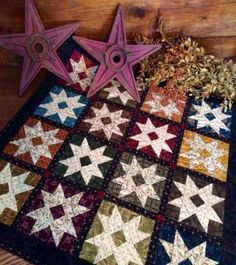 Barn Stars-The new Kim Diehl Simple Whatnot's Club. We have the kits available now! No club fees.