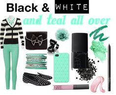 """""""Teal"""" by mirandablair85 on Polyvore"""