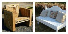salons de jardin chaises canapé bois