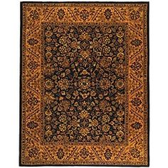 Shop for Safavieh Handmade Golden Jaipur Black/ Gold Wool Rug (6' x 9'). Get free shipping at Overstock.com - Your Online Home Decor Outlet Store! Get 5% in rewards with Club O!
