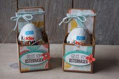 Ostereierverpackung, Bild1, gebastelt mit Produkten von Stampin' Up!