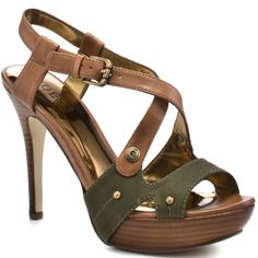 Guess Shoes  Belloma - Green Multi Leather