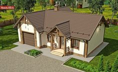 Проект дома B-123 - Проекты домов и коттеджей в Москве Gazebo, Outdoor Structures, Mansions, House Styles, Home Decor, Manor Houses, Villas, Fancy Houses, Interior Design