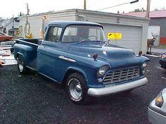 1955 Chevrolet Pickup in Scranton, Pennsylvania 1955 Chevy, 1955 Chevrolet, Chevrolet Trucks, Chevy Stepside, Chevy Pickups, Chevy Pickup Trucks, Chevy Trucks, Pick Up, Old Cars