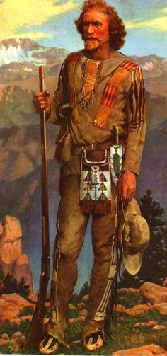 Jim Baker (1818–1898), trapper, scout and guide, was a friend of Jim Bridger and Kit Carson and one of General John C. Fremont's favorite scouts. He was one of the most colorful figures of the old west.