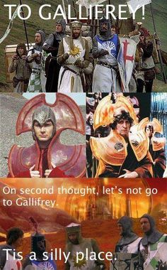 Smart people, Time Lords, terrible taste in hats ;)