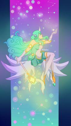 Soraka Star Guardian by Hinesu