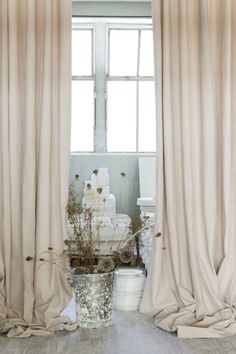 Upon entering the workshop, seamstresses and painters are already enamored with this 100% linen fabric in pastel and earth tones. #newcollection #linen #curtain #fabric #interior #elitis