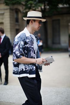 On the Street…Those Prada Shirts, Milan