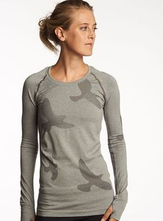 """Have and love this Oiselle tech long sleeve! """"Fitness Brands That Aren't Lululemon"""" (Icebreaker is pretty fantastic too)"""