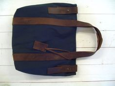 Recycled canvas tote. $159