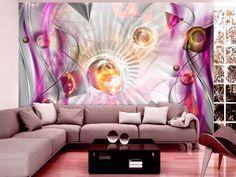 Abstraktní růžová Montage, Bad, Products, Pictures, Printmaking, Hanging Wallpaper, Photo Wallpaper, Wallpapers, Gadget