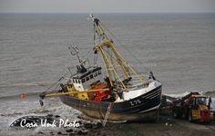 Shipwreck of Belgium cutter Zeldenrust Z75 in front of Dutch coast 2