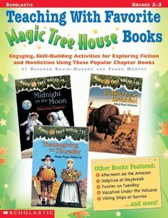 Teaching With Favorite Magic Tree House Books:  Excellent resource to use when working with small groups.