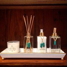 Nossos produtos da linha Murano nessa linda bandeja de laca da…