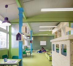 Rosemary Works School in London by aberrant architecture, interior