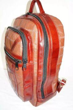 c81f17cc2 mochila g toda 100% couro legítimo. produto em promoção