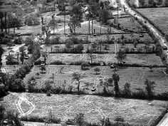 Armored personnel plowing through holes in the hedgerows, Saint-Lô 1944  During the invasion of Normandy, it was the Germans that gave the ...
