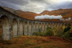 Glenfinnan Viaduct HDR by amfalconer, via Flickr