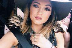 Truque de maquiagem da Kylie Jenner - http://eleganteonline.com.br/truque-de-maquiagem-da-kylie-jenner/