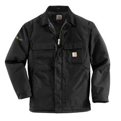 See Carhartt Men's Arctic Quilt Lined Yukon Coat,Black,XX-Larg. Front-zip coat with concealed placket featuring flap pockets at chest. Patch pockets on front Carhartt Jacket, Carhartt Coats, Carhartt Wip, Thing 1, Mode Vintage, Black Nylons, Large Black, Work Wear, Casual Outfits