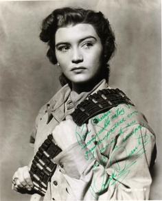 Irma Dorantes, film star and singer from Mexico