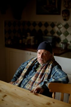 David Bailey by @RickPushinsky, exhibited at Taylor Wessing Photographic Portrait Prize 2011 National Portret Gallery
