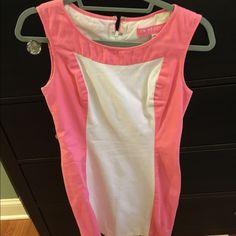 CK Bradley dress size 4 Pink and white CK Bradley dress Ck bradley Dresses