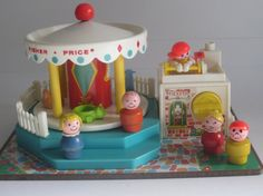 Vintage 1972 Fisher Price Little People Merry