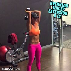Upper body, arms and chest gym workout – Emily Skye F.I.T.