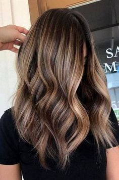 Coffee and caramel balayage hair. coffee and caramel balayage hair brown Brown Hair With Blonde Highlights, Hair Color Highlights, Hair Color Balayage, Bronde Bayalage, Auburn Balayage, Ash Blonde, Brown Ombre Hair, Blonde Highlights On Brown Hair, Highlights For Brunettes