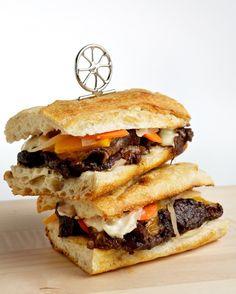 beer-braised short rib sandwiches | WaPo (via tom colicchio)