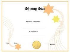 Free Award Templates For Word Certificate Of Recognition  Accomplishments  Pinterest  Certificate