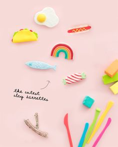14 Galentines Day DIY Gift Ideas Your Gal Pals Will Love - Lolly Jane - Hobbies paining body for kids and adult Clay Crafts For Kids, Clay Pot Crafts, Polymer Clay Crafts, Easy Diy Crafts, Diy Clay, Crafts To Sell, Polymer Clay Kawaii, Sculpey Clay, Polymer Clay Animals
