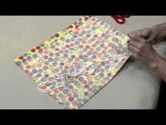 Singer Sew Fun Drawstring Backpack Instructional Video - YouTube