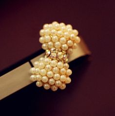 Pearl Bow Tie Phone Plug | LilyFair Jewelry, $9.99!