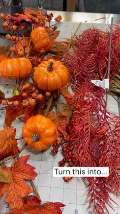 Wreaths For Front Door, Door Wreaths, Easy Primitive Crafts, Autumn Wreaths, Christmas Wreaths, Dollar Tree Decor, Harvest Decorations, Wreath Crafts, Fall Diy