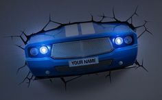 3D Deco Light ~~ Classic Car ~~ Looks like the Car has broken through the wall! ~~ Games Room / Kids Room JWP http://www.amazon.co.uk/dp/B00IJVPWEQ/ref=cm_sw_r_pi_dp_D3zJwb0V4Z99W