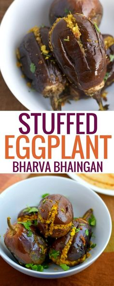 Not a fan of eggplant/brinjal? Try Bharva Bhaingan a stuffed eggplant dish and you might just change your mind. via @simmertoslimmer