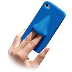 Worst phone case ever...hahaha pick a nose anyone