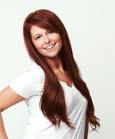# 33 - Dark Auburn Hair Extension