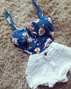 #shorts #and #cropped #meigo #style #lifestyle #moda #feminina #ideias #inspiração #tendencia #blogger #girl