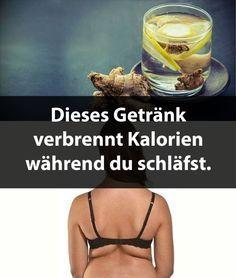 Dieses Getränk verbrennt Kalorien während du schläfst. | Krass