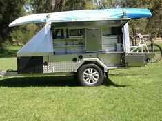 home built camping trailers | Camper Trailer 9