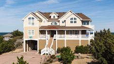 10 BR; oceanfront; $10,930 for 2018 Corolla 2018, Oceanfront Vacation Rentals, Tupelo Honey, Private Pool, Summer Fun, Mansions, House Styles, Half Bathrooms, Banks