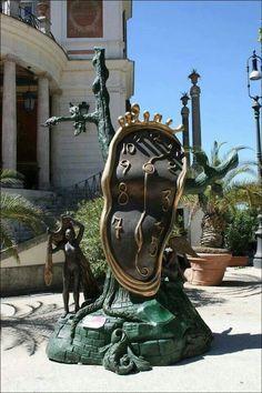"Salvador Dali (1904-1989) ""Nobility of Time"" Museum-scale bronze. #DALI"