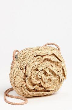 Mar y Sol Raffia Crossbody Bag available at #Nordstrom